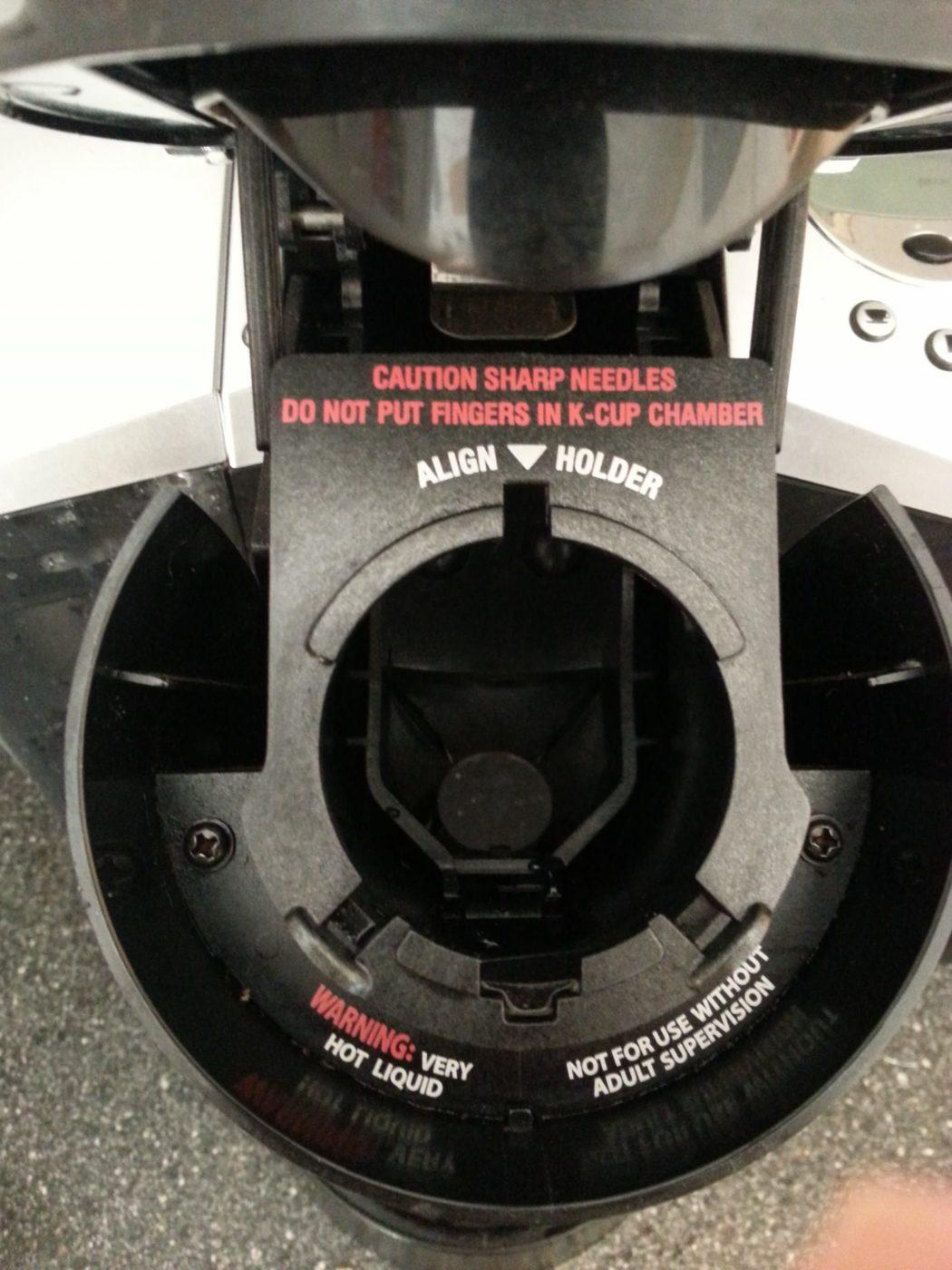 How to clean a Keurig K-cup coffee maker