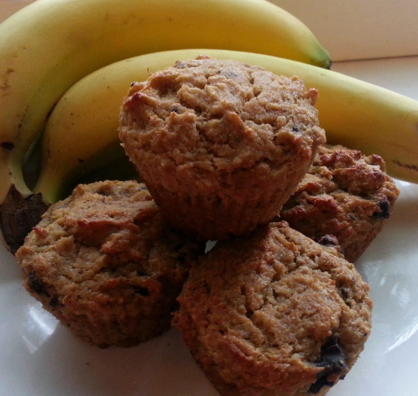 Recipe: Gluten-free, Grain-free Banana Chocolate Chip Muffins