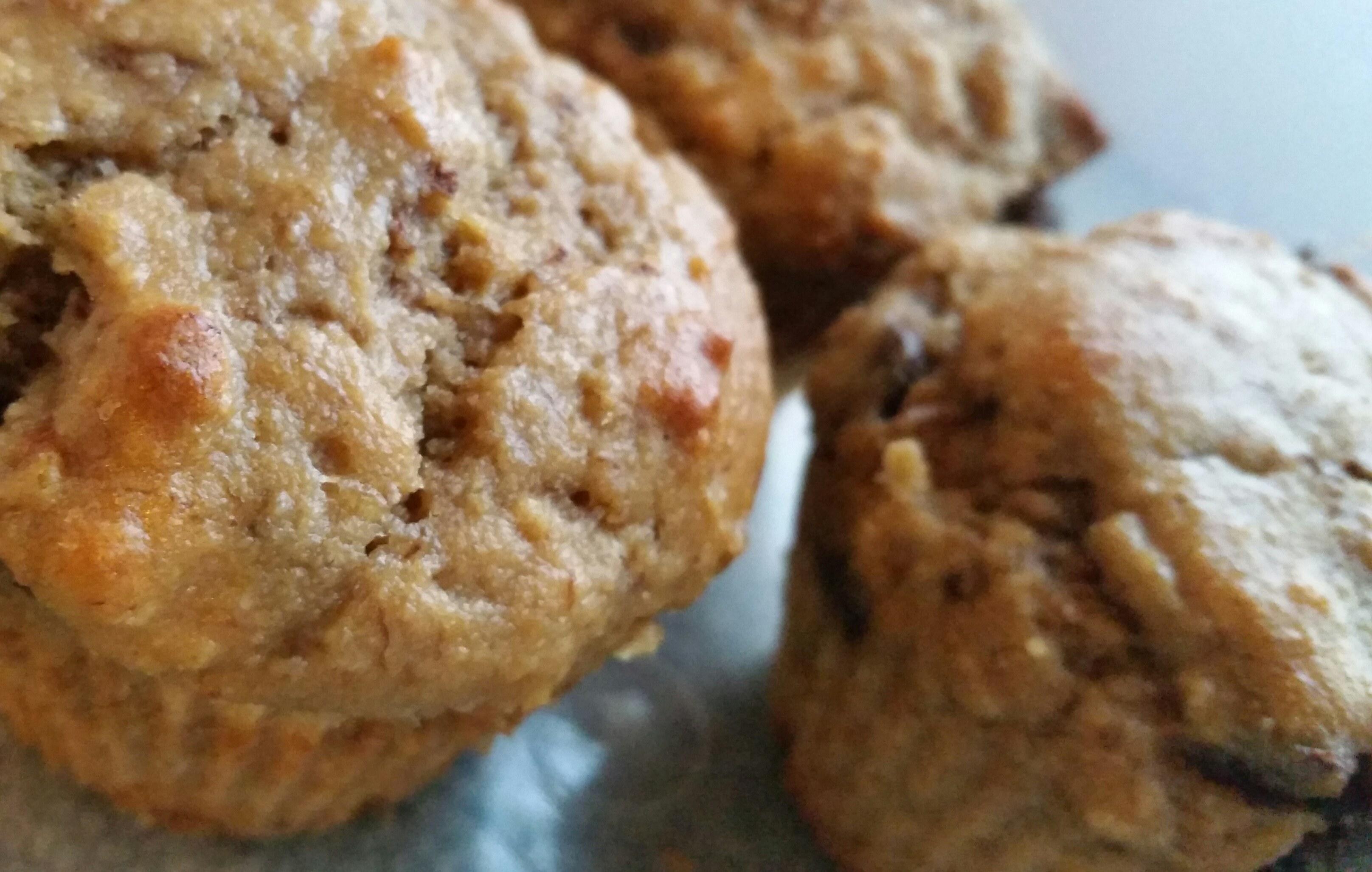 Recipe: Peanut Butter-Banana Muffins